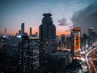手机夜景摄影-Instagram流行色orange&tea