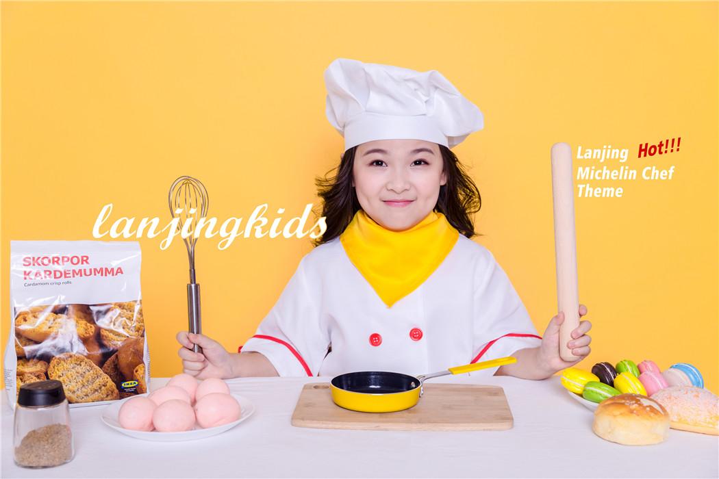 蓝鲸儿童摄影|儿童写真厨师系列拍摄